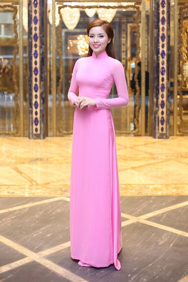 Cách Chọn áo Dài Cưới Màu Hồng Phấn Cho Các Nàng Dâu đẹp Nhất 2017